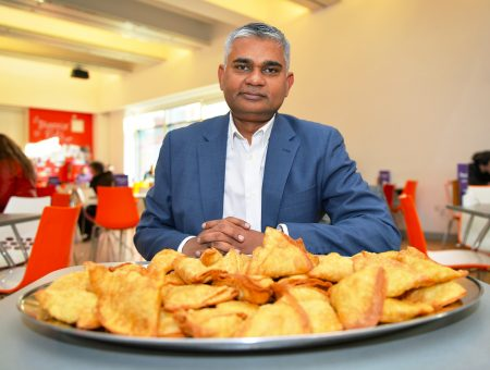 The first ever National Samosa Week launches in the city