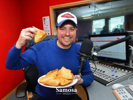 Samosa's at BBC Radio Leicester