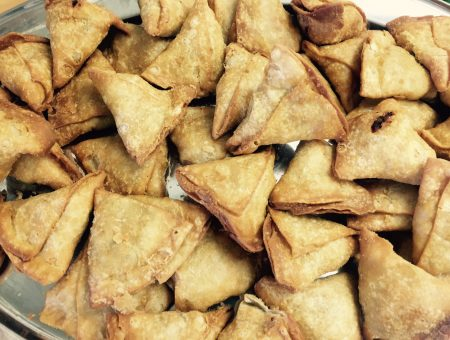 GEARING UP FOR THIRD ANNUAL NATIONAL SAMOSA WEEK